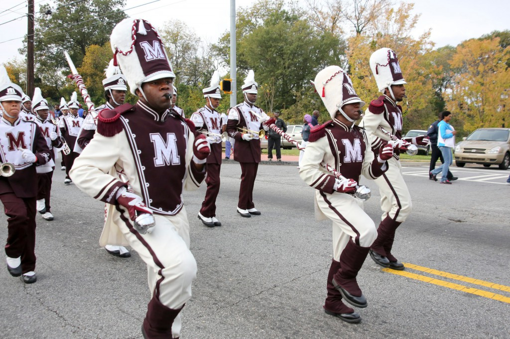 Morehouse College marching band - House of Funk - set the tone for a fun Homecoming!