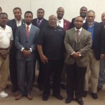The Morehouse College National Alumni Association Board of Directors met during the recent Homecoming weekend.