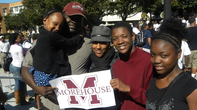 Click here to download your own Morehouse placard to proudly display....wherever in the world you are!