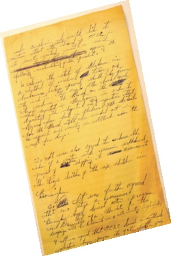 Martin Luther King Jr.'s personal letters and files can be found in the Archives.