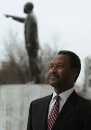 Morehouse College's new leader, John Silvanus Wilson Jr., is a Morehouse graduate who worked in the Obama administration. IMAGE: AJC
