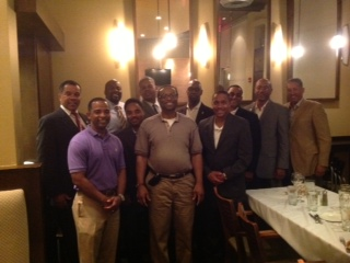 Recent dinner meeting with the Charlotte Chapter of the Morehouse Alumni Association.