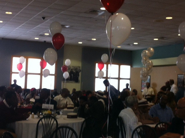 The scene was set for the Morehouse College Alumni Action Summit held today, May 17, 2013.