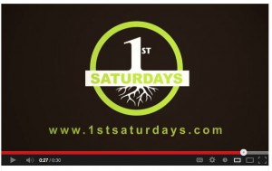 Click here to view the video about First Saturdays on YouTube.