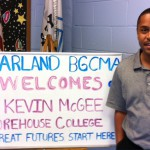 The Harland Boys and Girls Club in Metro Atlanta gave the Morehouse College Alumni Association's President, Kevin McGee, a warm welcome.