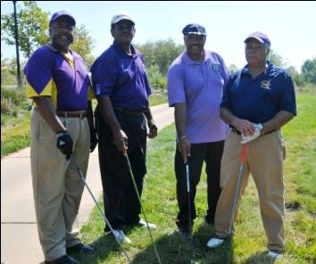 Net Score Champions of the 2012 Morehouse Golf Classic.