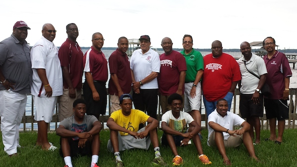The Morehouse College Alumni - Jacksonville Chapter - recently hosted a sendoff party for incoming freshman to the College.  The poolside gathering included lots of food, laughter, and was hosted by the Miller family.  Good luck Morehouse Men!
