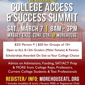 Morehouse Atlanta Alumni College Access & Success Summit