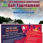 2015 Morehouse Homecoming Alumni Events
